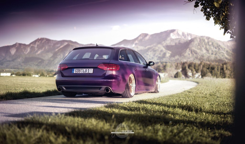 Audi A4 Avant – Midnight Purple