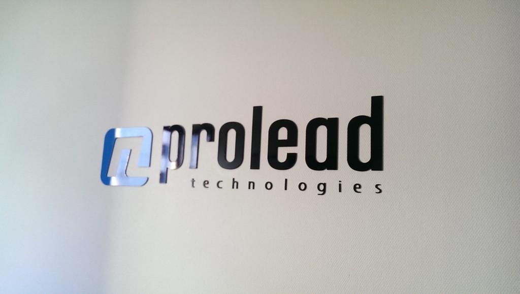 """Firmenlogo """"prolead"""""""
