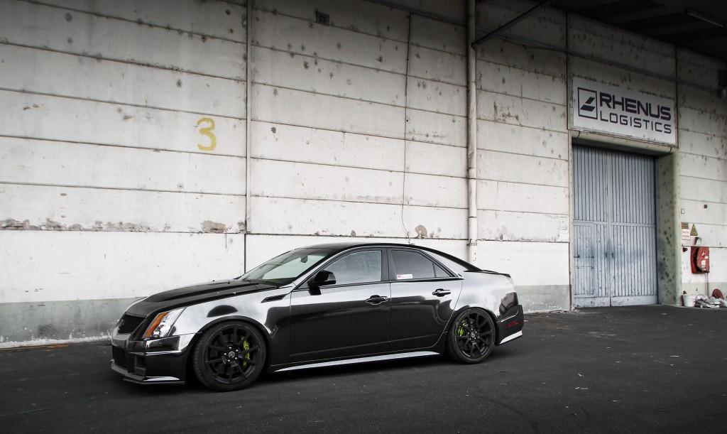 Cadillac CTS-V – Black Chrom
