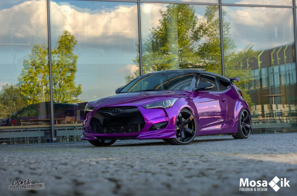 Hyundai Veloster Chrom Purple