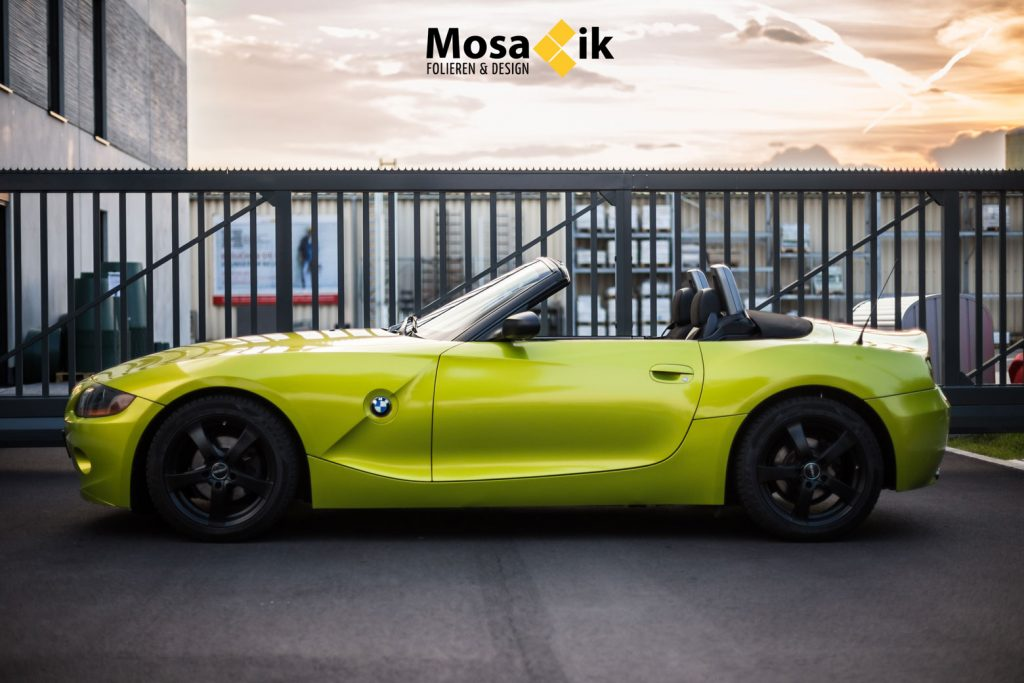 BMW Z4 – Electric Lime