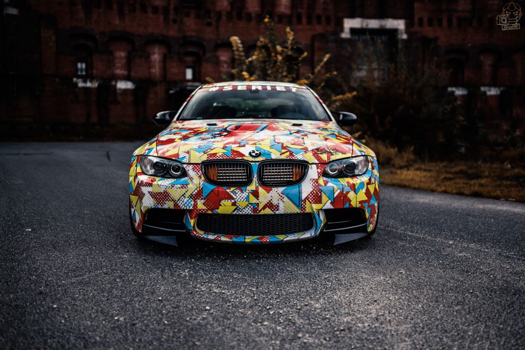 BMW M3 G-Power Hurrican – Digitaldruck Pixel Camoflage